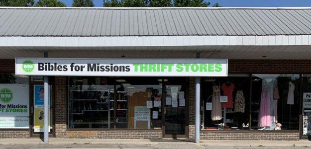Mission Thrift Store Burlington