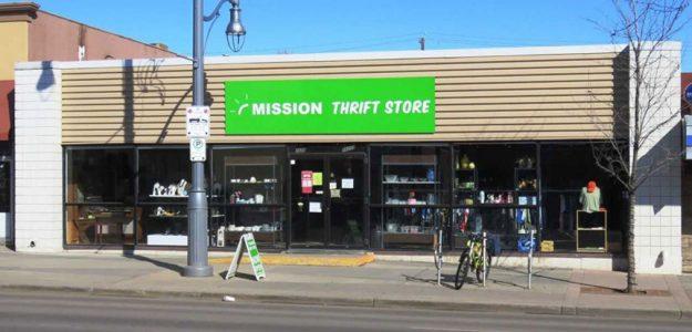 Mission Thrift Store Edmonton