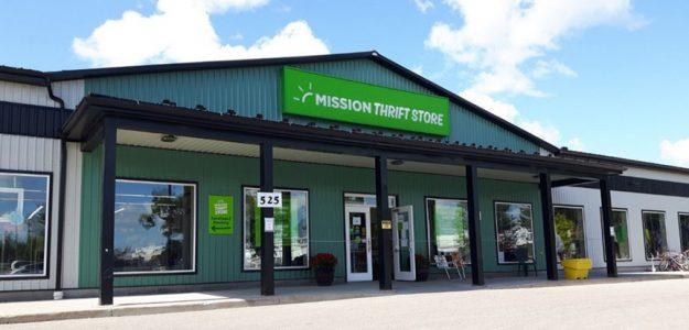 Mission Thrift Store Fergus